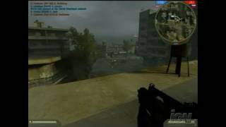 Battlefield 2: Special Forces PC Games Gameplay - Ghost Town