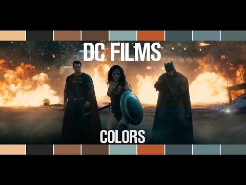 The DC Extended Universe in Color
