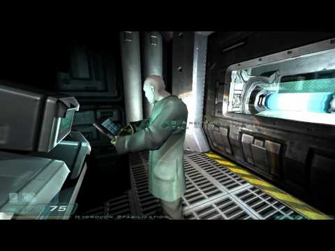 Doom 3 Walkthrough Part 8 HD - Level 5, Alpha Labs Sector 1