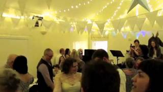 Mr and Mrs Leckie wedding reception