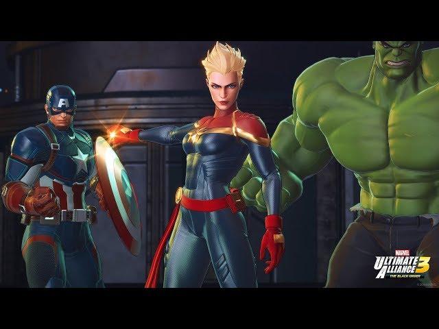Captain Marvel joins Marvel Ultimate Alliance 3 for Nintendo Switch!