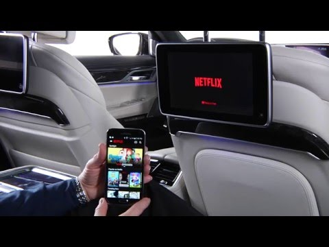 Use Google Chromecast In Rear Seat Entertainment | BMW Genius How-To