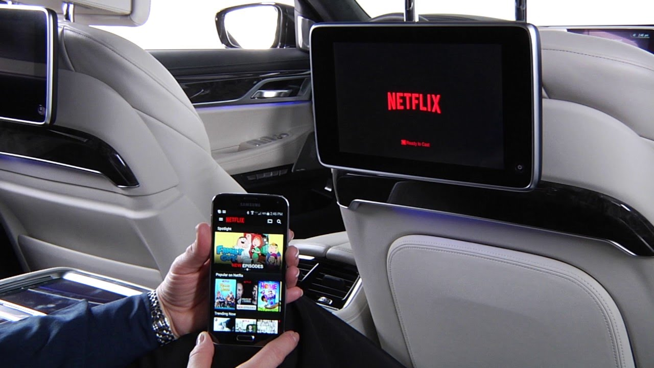 Use Google Chromecast In Rear Seat Entertainment Bmw