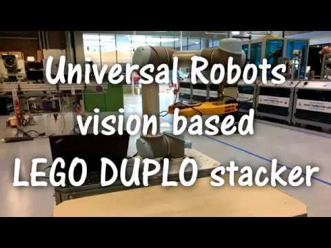 TKJ Electronics » Universal Robots vision-based LEGO DUPLO