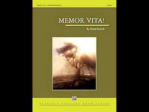 Memor Vita! - Brant Karrick