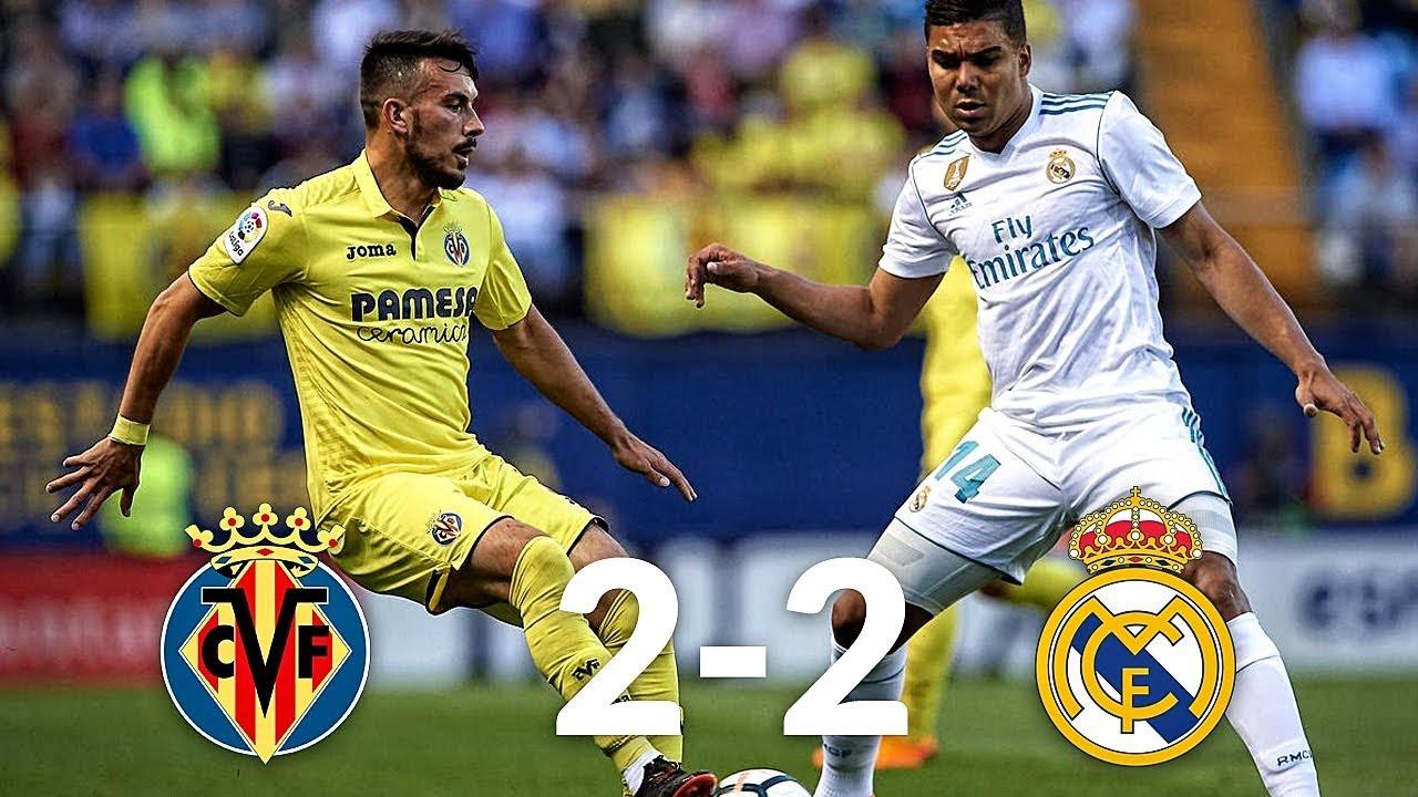 Villarreal Vs Real Madrid Match Statistic YouTube