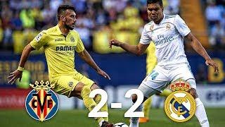 Villarreal vs Real Madrid 2-2 03/01/19 ● Match Statistic