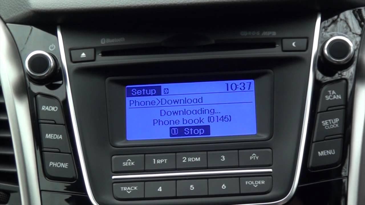 Hyundai İ20 active telefon(bluetooth) bağlantısı nasıl yapılır?(Dokunmatik ekran)