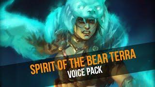 NEW Voice Pack - Spirit of the Bear Terra