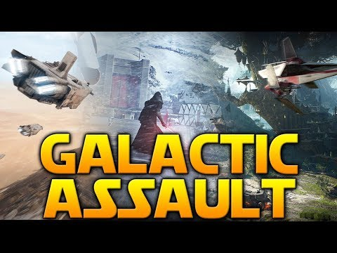 GALACTIC ASSAULT GAMEPLAY (9 PLANETS) - Star Wars Battlefront 2