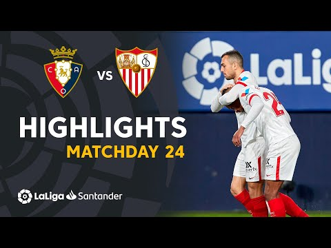 Osasuna Sevilla Goals And Highlights