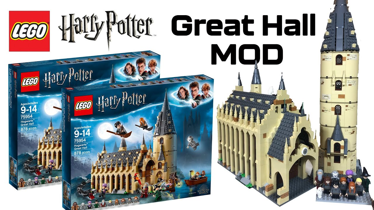 Download Harry Potter LEGO - Great Hall MOD - combining TWO sets