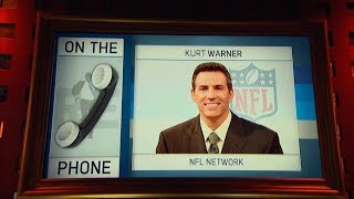 Pro Football Hall Of Famer Kurt Warner Weighs in on NFL Conference Championship Weekend - 1/19/18