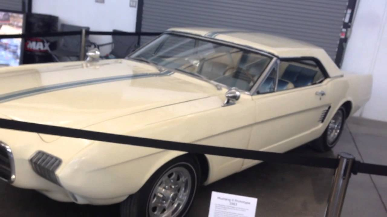 1963 Ford Mustang II X car prototype assembled Hard Too ...