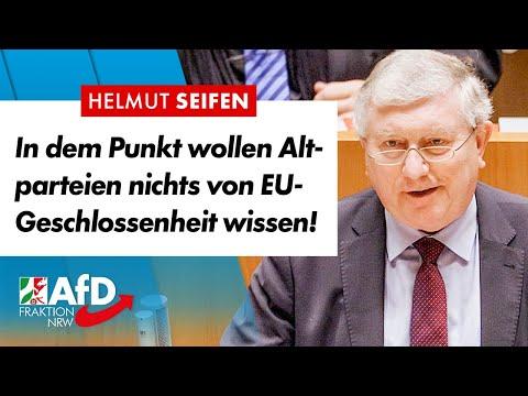 EU-Geschlossenheit? In einem Punkt doch nicht! – Helmut Seifen (AfD)