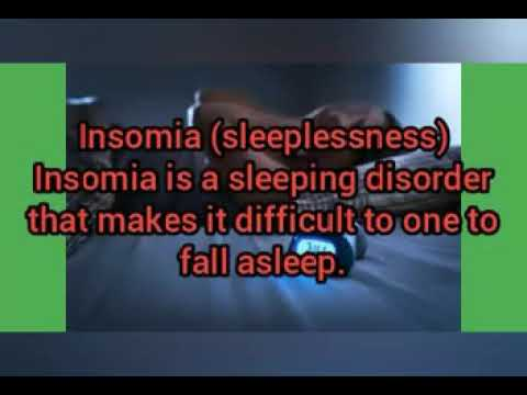 Herbs for treating insomnia