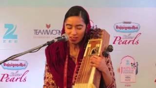 Amrit Kaur Loha, traditional music at the Jaipur Literature Festival 2016