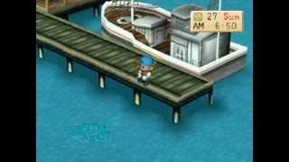 Harvest Moon (Back To Nature): 2 Ikan Legendaris Terakhir & Julukan Gelar Sebagai Raja Pemancing