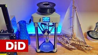 794. BIQU Magician - mini drukarka 3D w układzie DELTA.