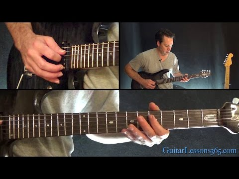 Metallica - And Justice For All Guitar Lesson (Part 1)