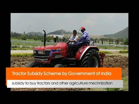 Tractor Subsidy Scheme by Government of India