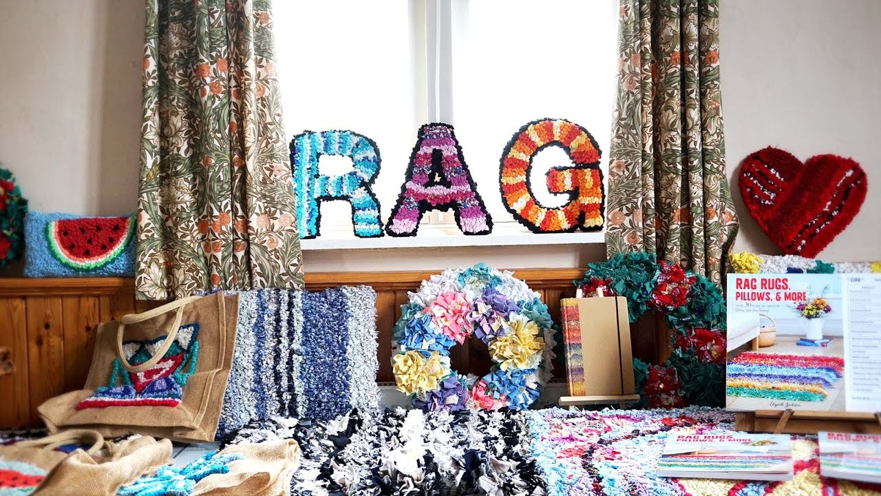 The UK's Largest Rag Rug Workshop