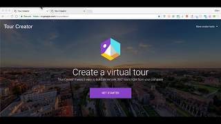 Google Tour Creator - Create your own VR tours