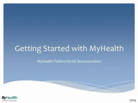 MyHealth Patient Portal - St  Mary's Hospital and Health