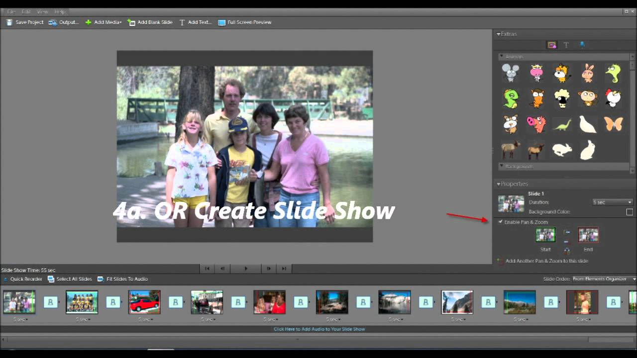 using photoshop elements with windows live movie maker