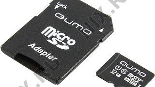 карта памяти Qumo microSDHC Class 6 microSDHC Class 6 8Gb