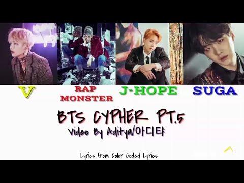 BTS Cypher Pt.5 Lyrics (Color Coded)