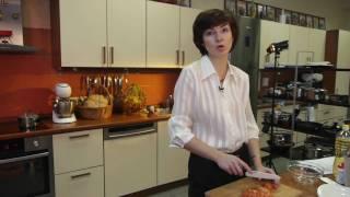 Любимые рецепты. Салат из помидоров с яйцом