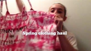 Spring Haul Thumbnail