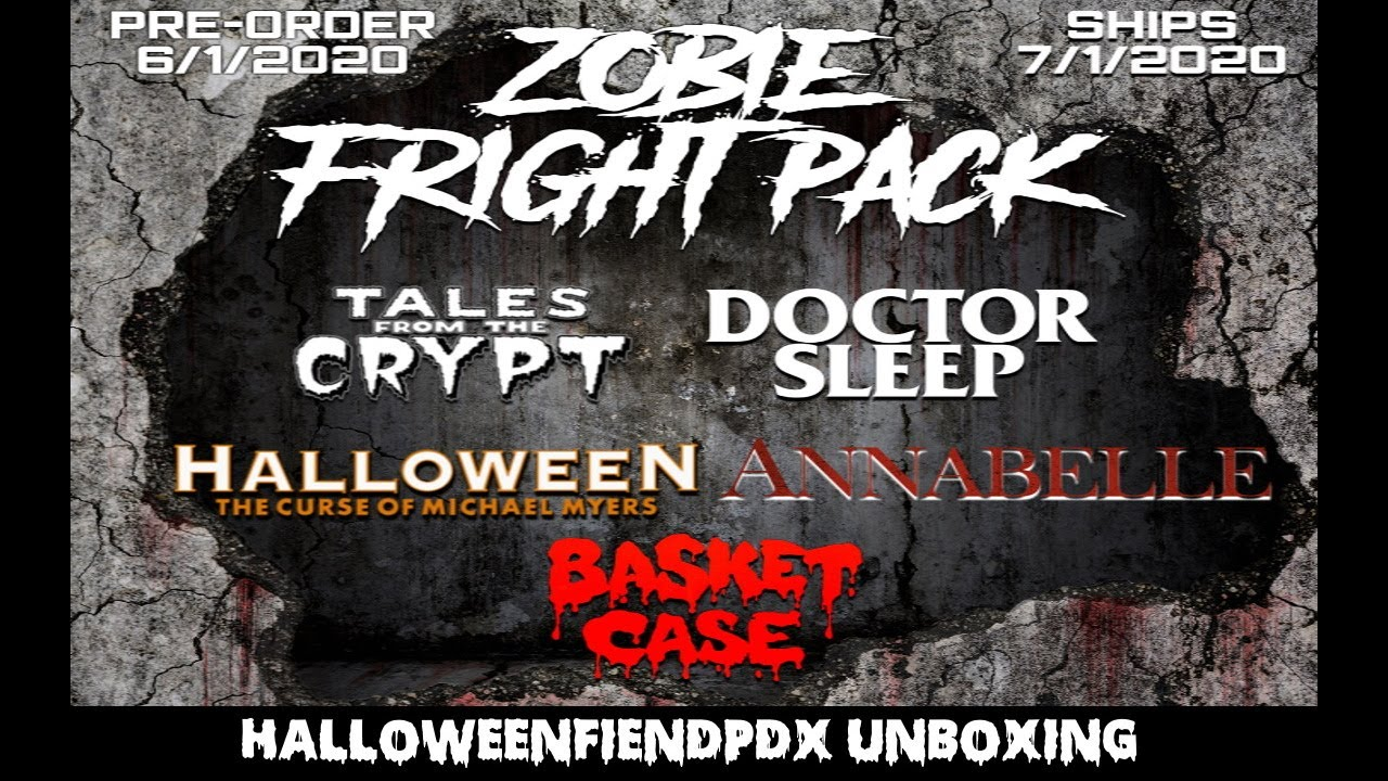 Zobie Fright Pack July 2020 (feat.Tales From The Crypt) Unboxing