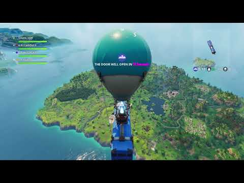 Fighting my depression with 19 friends and MJ in Fortnite