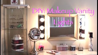 Diy: Hollywood Vanity Lights