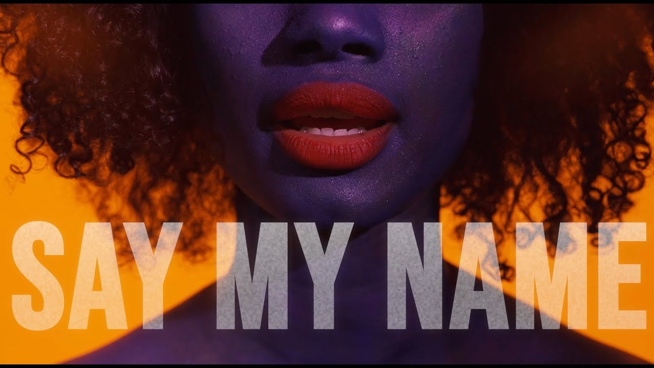 David Guetta Bebe Rexha J Balvin Say My Name Lyric Video Youtube