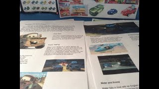 Cars the Ultimate Guide Book update #1-Lightning themed buildings and Mater