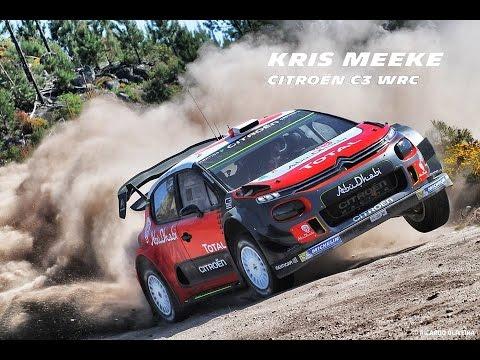 Test Kris Meeke Citro n C3 WRC Mondim de Basto 2017 Full HD