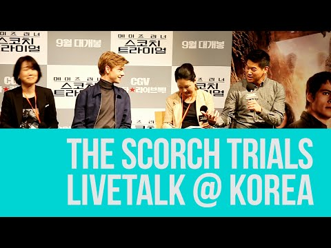 150903 Kihong Lee & Thomas Brodie-sangster Livetalk (full)