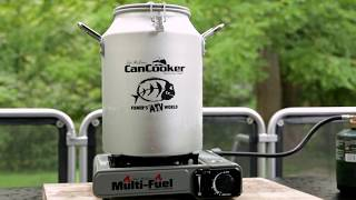 A great easy recipe for cooking at camp using the Can Cooker!