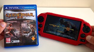 God of War Collection (PS Vita) Unboxing And Gameplay