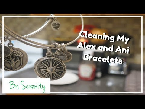 Ketchup Method || Cleaning My Alex and Ani Bracelets