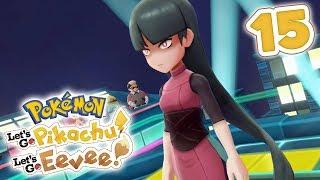How To Beat Gym Leader Sabrina | Pokémon Let's Go Pikachu! & Let's Go Eevee! Walkthrough - Part 15