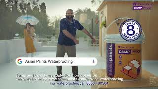 Asian Paints Damp Proof For Terrace Waterproofing – Hindi