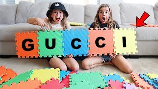 I'LL BUY Whatever You Can SPELL Challenge! Giant Spelling Game!   JKrew