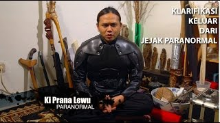 Ki Prana Lewu keluar dari Jejak Paranormal (klarifikasi) [Eng Subs]