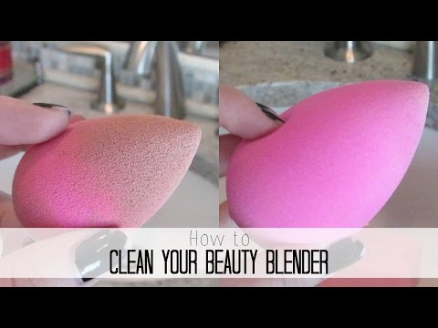 How to Clean Your Beauty Blender & Makeup Brushes! For Less Than $1!