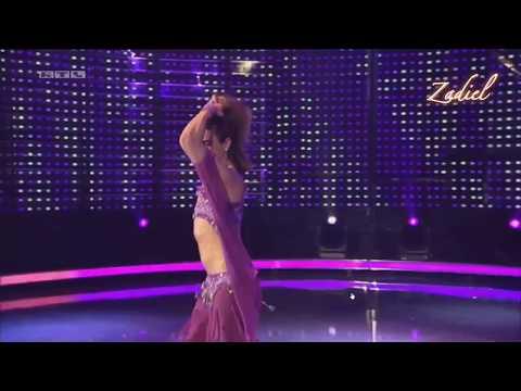 Zadiel the turkish male Bellydancer on German television show! RTL 2017