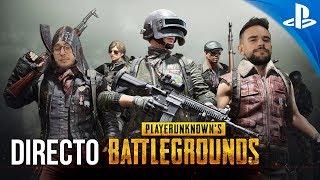 ¡JUGAMOS en DIRECTO PLAYERUNKNOWN'S BATTLEGROUNDS! - PS4